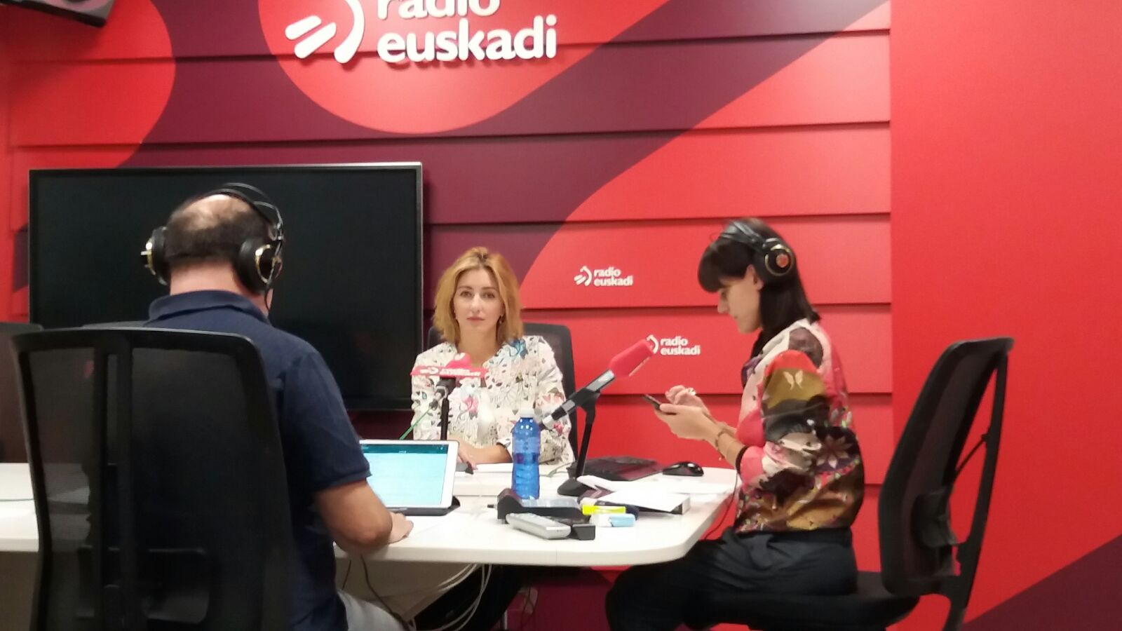Arancha Guerrero en la radio