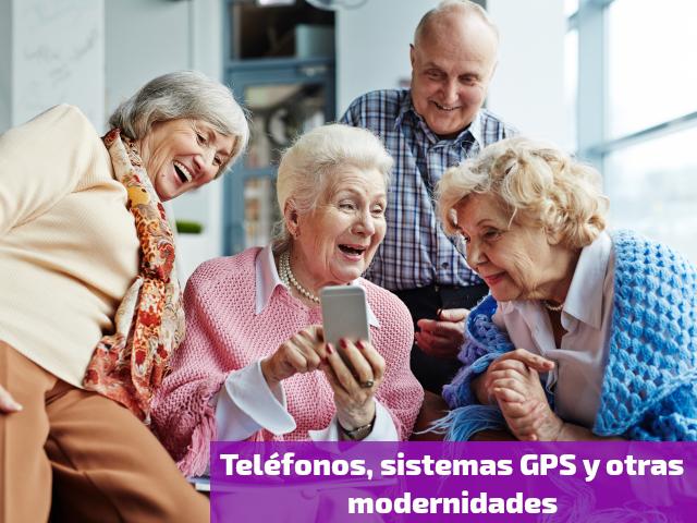 Teléfonos, sistemas GPS y otras modernidades